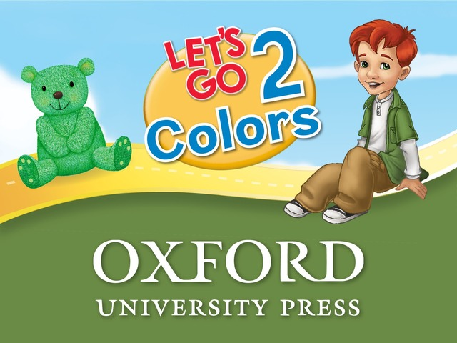 Let's Go: Colors - Let's Learn by Oxford University Press