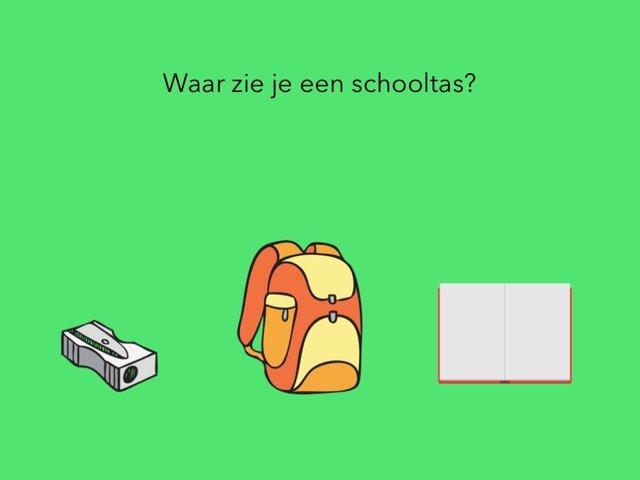 Taal: Woordenschat, weer naar school. by Renske Imthorn