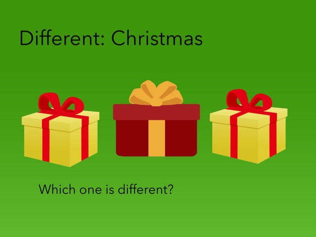 Different: Christmas  by Carol Smith
