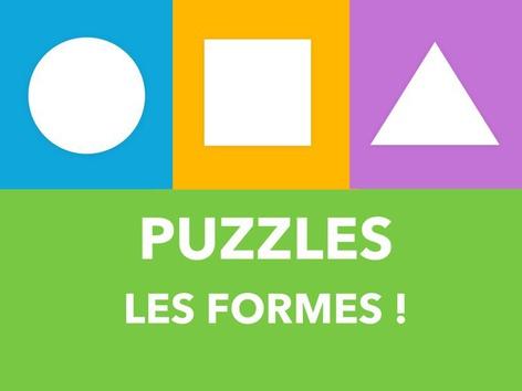 Puzzles - Les formes by Puzzle Land