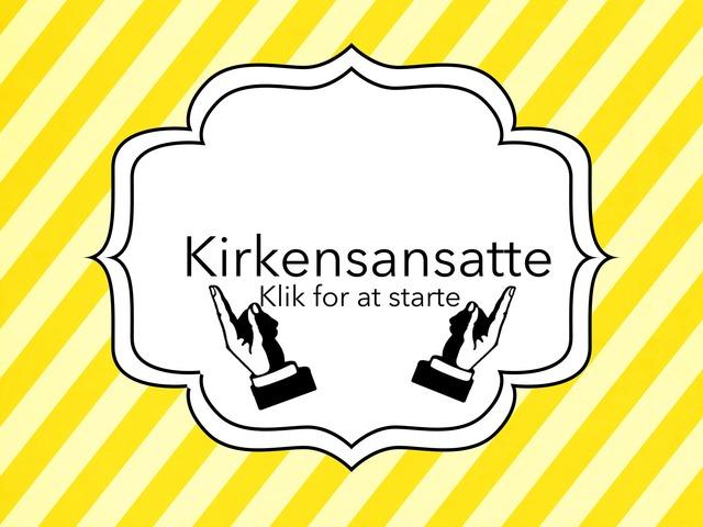 Kirkensansatte by Kristina Lindbo Mortensen Skibet Skole
