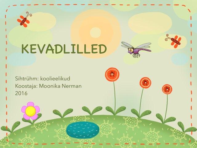 Kevadlilled by Moonika Nerman