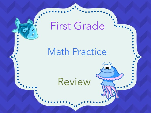 First Grade Math Practice Review by Nathalie Benton
