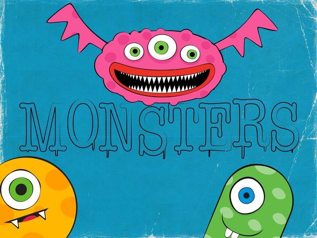 Os Monstros by Paula  Sacomano