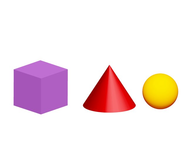 Identifying 3 Dimensional Shapes by Lori Board