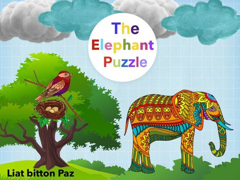 The Elephant Puzzle  by Liat Bitton-paz