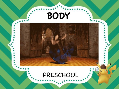 Parts Of The Body - Preschool by ShowAnd Text