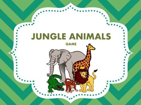 Jungle Animals by Berta Piera Grau