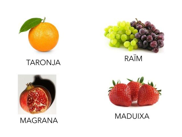 Fruites by Cristina Serrano