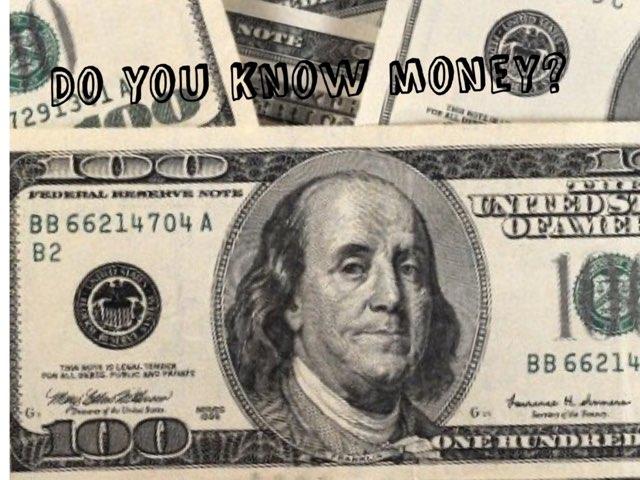 Do You Know Money  by Linda Motta