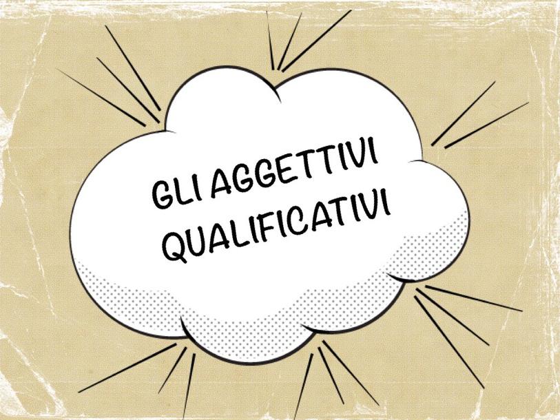 Aggettivi Qualificativi by Primaria Interattiva