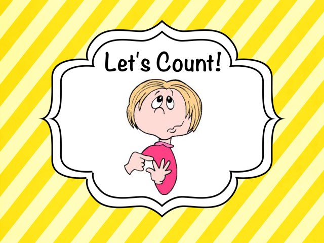 Lets Count To 3! by Ellen Weber