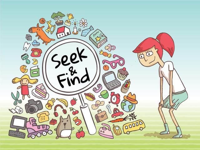 Seek & Find - Where's My Stuff 1 by Tiny Tap