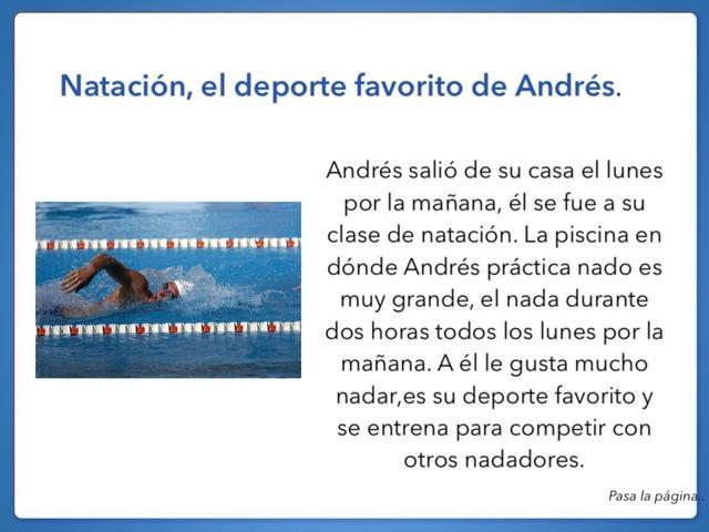 Natación  by Patricia Charris Perez