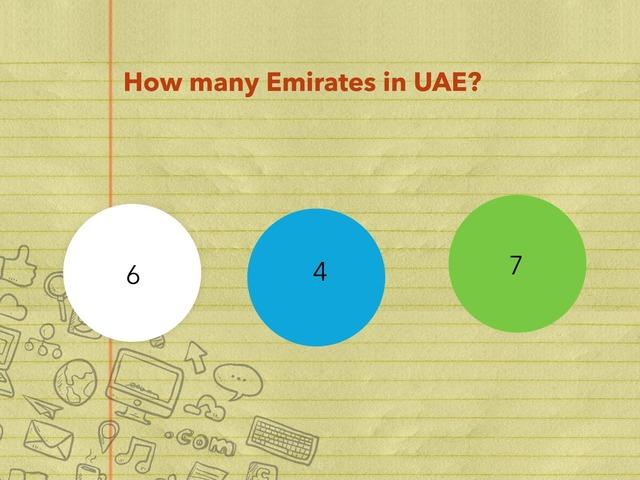 UAE Test by Yasser Ghazal