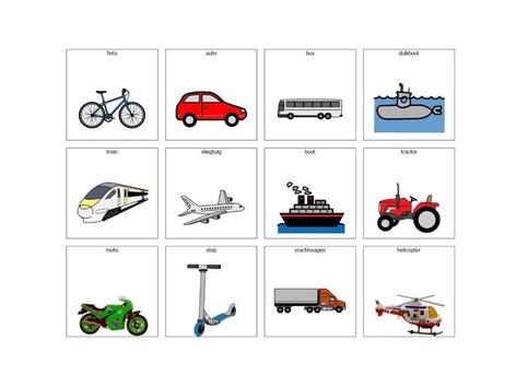 Categorieën Voertuigen by Katrijn Maes