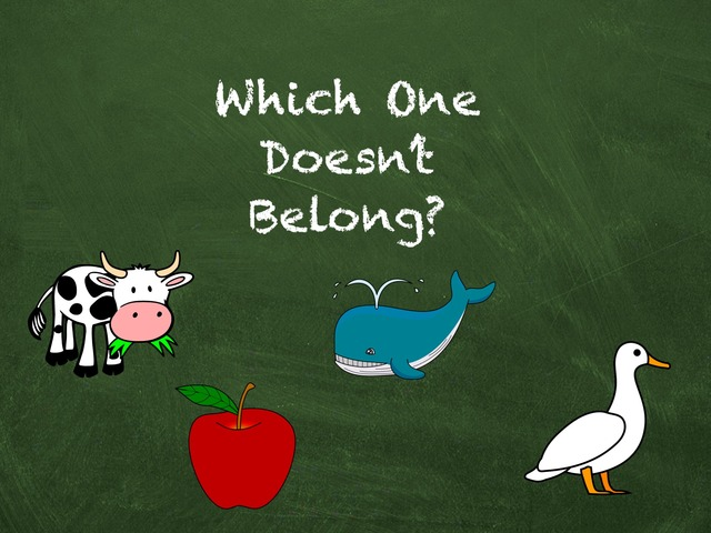 Which One Doesn't Belong? by Hadi  Oyna