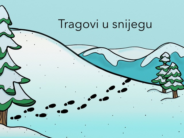 Tragovi U Snijegu, 2.r. by natasa delac