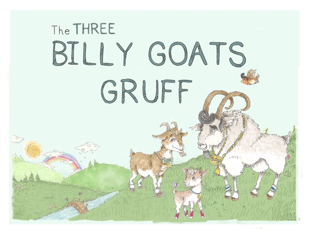 The Three Billy Goats Gruff by Helen Doron English