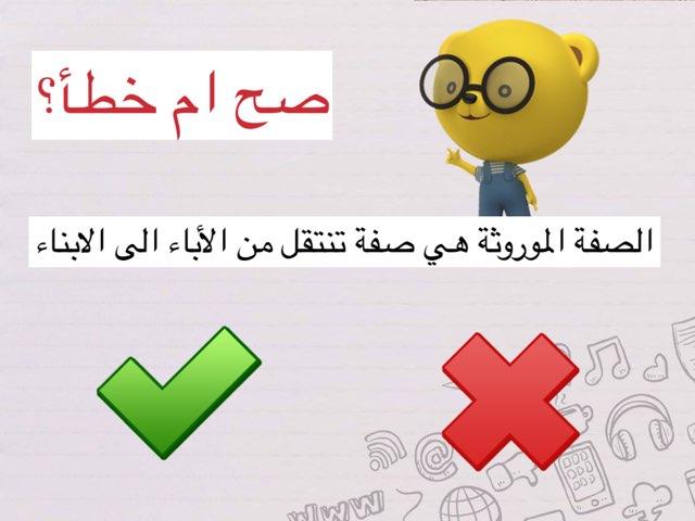الصفات والوراثه by Nona ff