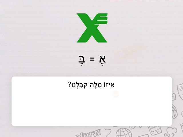 ריבויי זוגי ורבוס by Na'ama Zaken