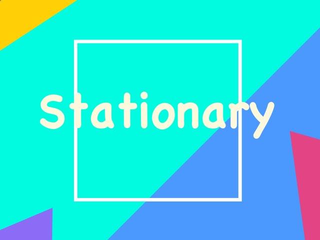 Stationary by Sara Lui