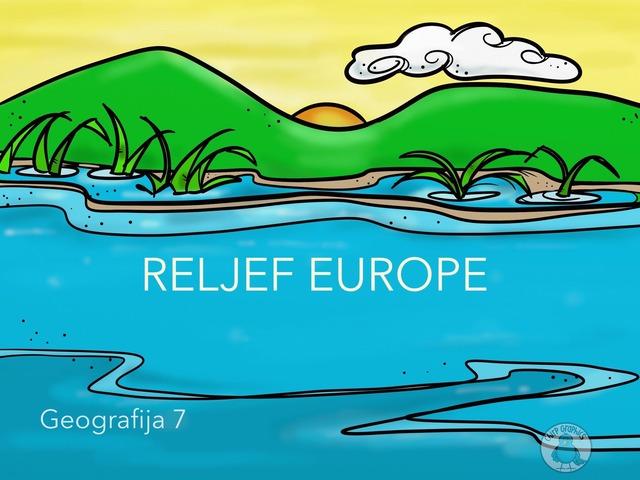 Reljef Europe by Sanja