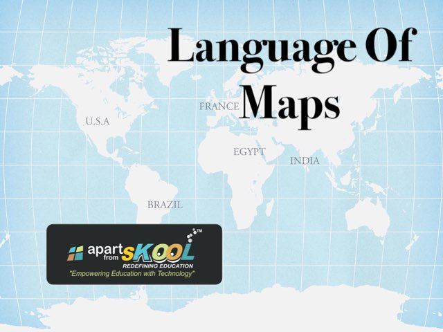 Language Of Maps by TinyTap creator