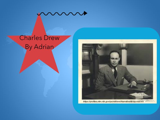 Charles Drew By Adrian by Christine Snow