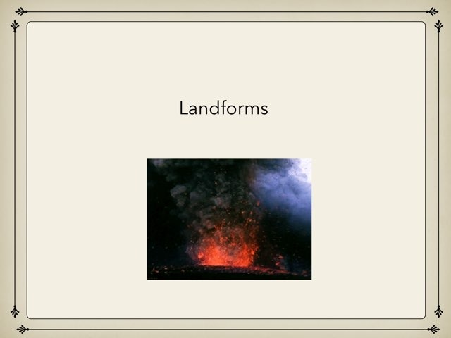 Landforms by Deidra Christley