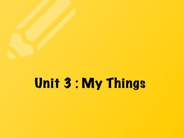My Things by Haya Althawadi
