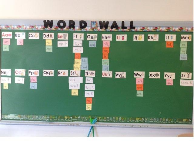 Journeys Unit 1 Word Wall by Mae valenzuela