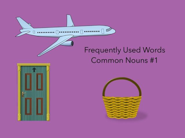Common nouns #1 by Carol Smith
