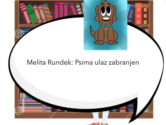 Lektira - Psima Ulaz Zabranjen by Borka Sladonja