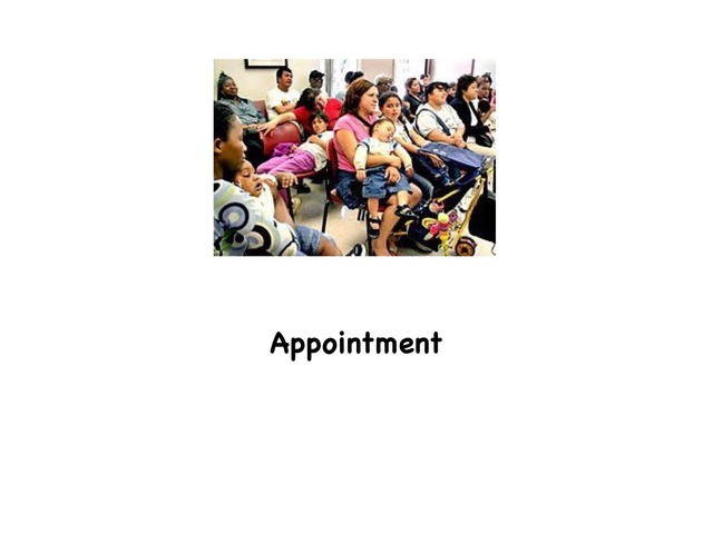 Appointment  by Rebecca Jarvis