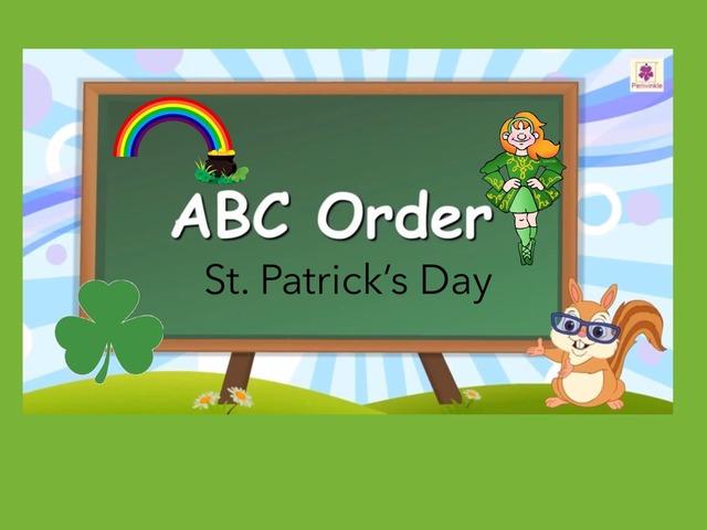 ABC Order: St Patrick's Day  by Carol Smith