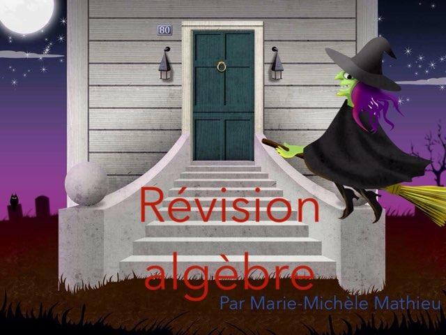 Algèbre 2017 by Marie-Michèle Mathieu