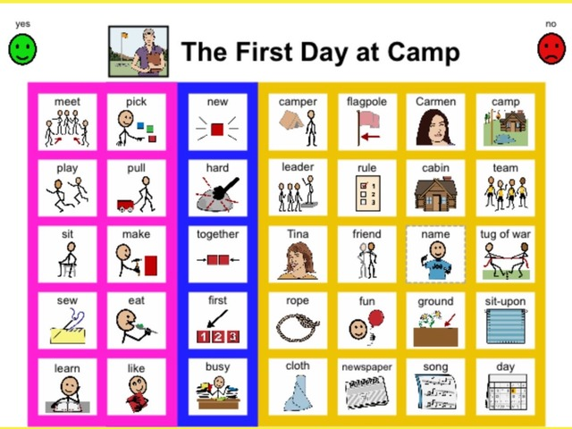 Unique Summer Unit Chapter 2: The First Day at Camp- Sight Word Find  by Tanya Folmsbee