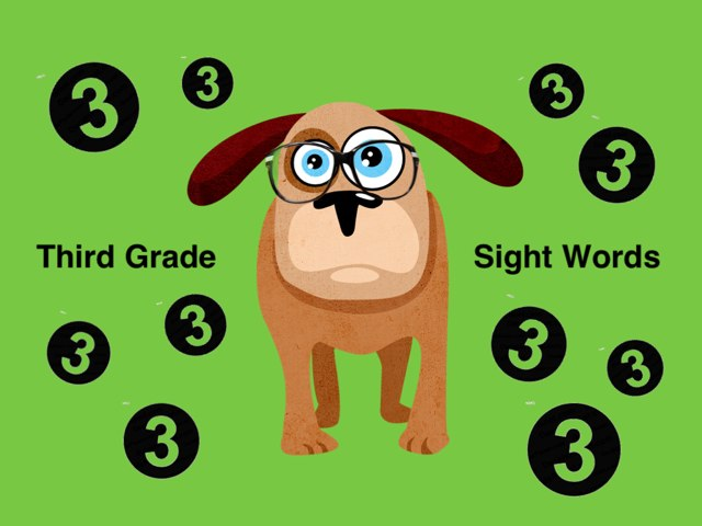 Third Grade Sight Words 2 by Ellen Weber