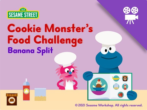 Cookie Monster's Food Challenge by Sesame Street by Tiny Tap