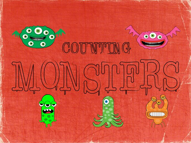 Monster Counting 5-10 by Ma wert
