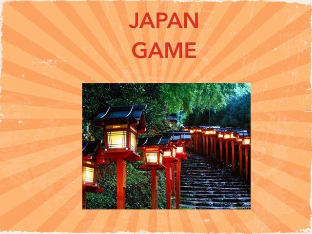 JAPAN GAME by Fernanda Velez