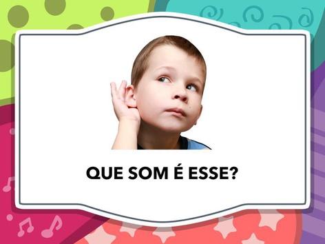 QUE SOM É ESSE?! by Aline Oliveira