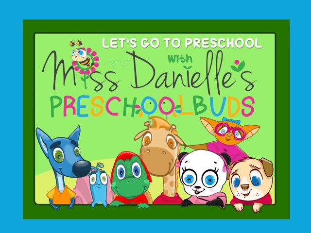 It's Time For Preschool With The Preschoolbuds by Danielle Lindner