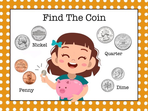 Money 1 - Find The Coin by Cici Lampe