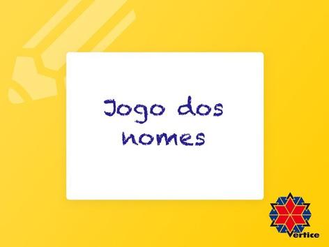 Jogo dos nomes - U by Fabiana Silvério De Albuquerqu