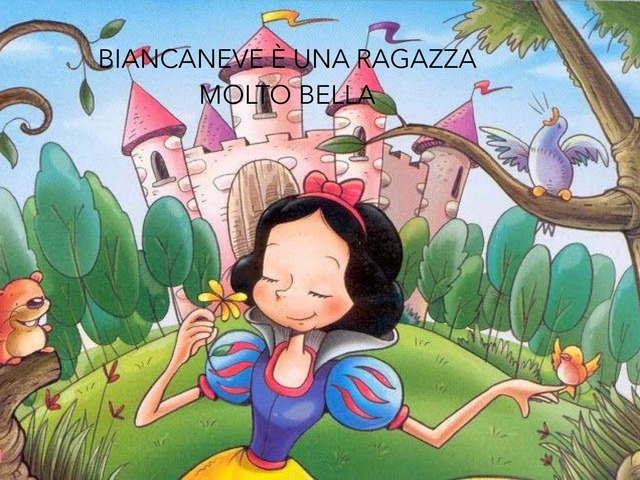 Biancaneve  by Margherita Bilello