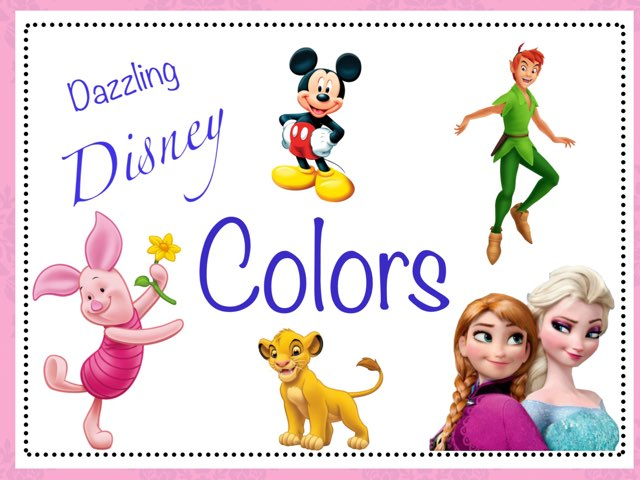 Dazzling Disney Colors by Sarah Mangel-Mammucari