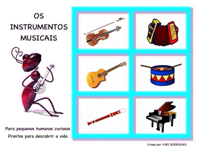 🎵 Os Instrumentos Musicais 🎵 by Yuri Rodrgues