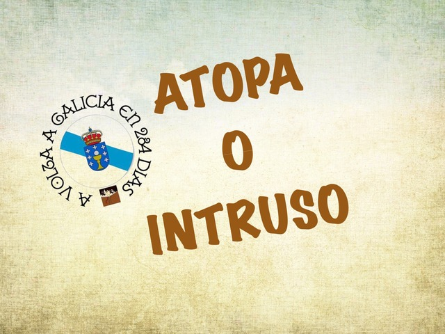 ATOPA O INTRUSO by Maria Lema Fernández